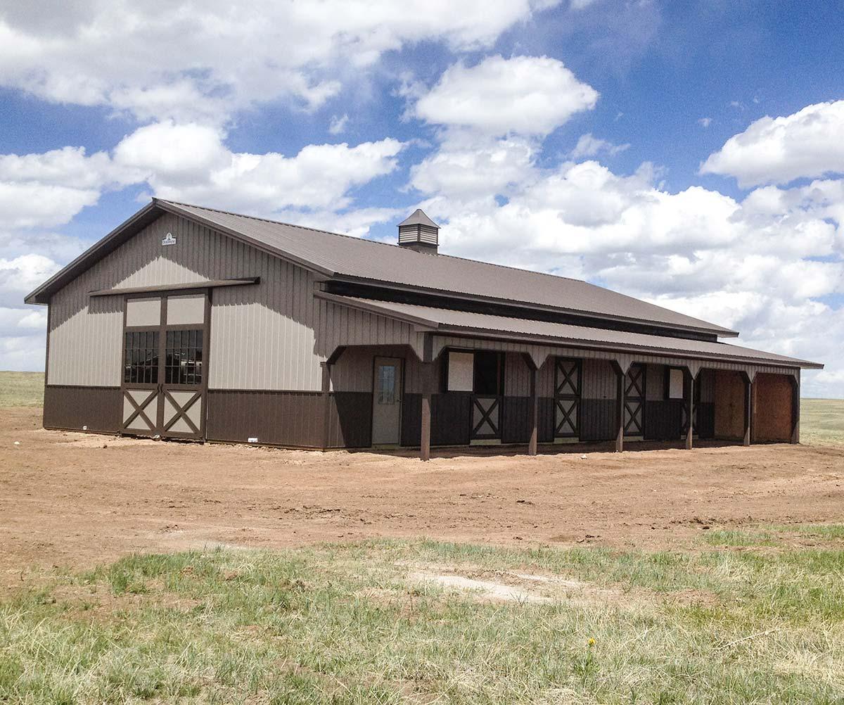 Pole Barns Post Frame Buildings Garages Horse Barns In Gillette Wy